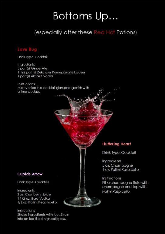 Lover's Cocktails